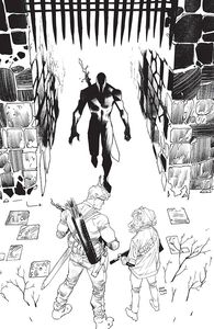 [Once & Future #16 (Mora Black & White Variant) (Product Image)]