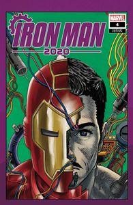 [Iron Man: 2020 #4 (Superlog Heads Variant) (Product Image)]