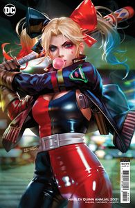 [Harley Quinn: 2021 Annual #1 (Derrick Chew Cardstock Variant) (Product Image)]