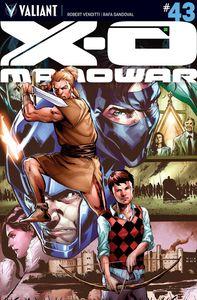 [X-O Manowar #43 (Cover A Jimenez (New Arc)) (Product Image)]