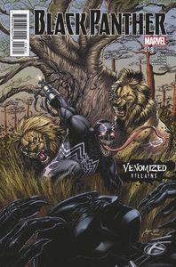[Black Panther #18 (Venomized Klaw Variant) (Product Image)]