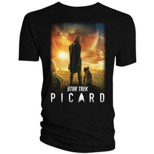 [Star Trek: Picard: T-Shirt: Season 1 Poster (Product Image)]