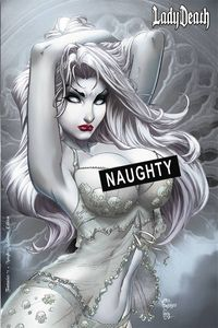 [Lady Death: Fantasies (Naughty Alabaster Edition) (Product Image)]