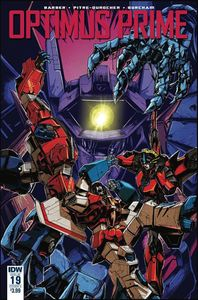 [Optimus Prime #19 (Cover A Zama) (Product Image)]