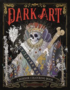 [Dark Art: A Horror Colouring Book For Adults (Product Image)]