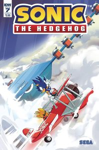 [Sonic The Hedgehog #7 (Cover B Thomas) (Product Image)]