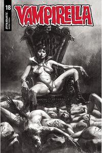 [Vampirella #18 (Mastrazzo Black & White Variant) (Product Image)]