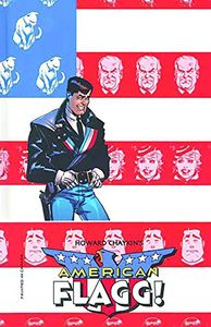 [American Flagg: Volume 1 (Limited Edition Signed Hardcover) (Product Image)]