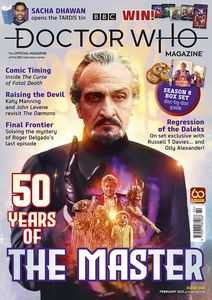 [Doctor Who Magazine #560 (Product Image)]