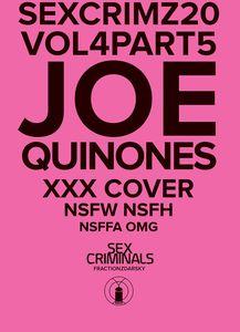 [Sex Criminals #20 (XXX Joe Quinones Variant) (Product Image)]