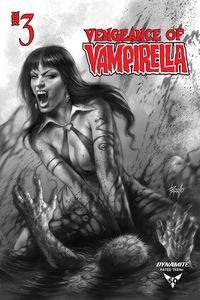 [Vengeance Of Vampirella #3 (11 Copy Parrillo B&W Variant) (Product Image)]