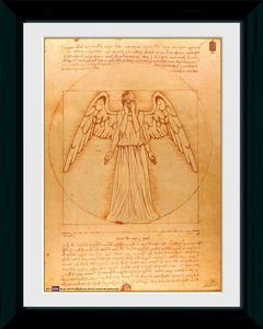 [Doctor Who: Framed Print: Weeping Angel (Product Image)]