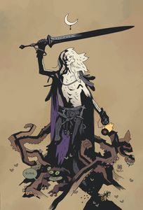 [Elric: Dreaming City #1 (Cover E Mignola Virgin Variant) (Product Image)]