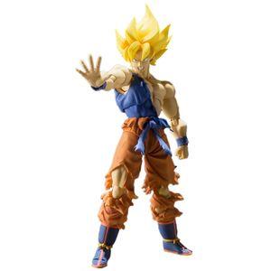 [Dragon Ball Z: SH Figuarts Action Figure: Super Son Goku (War Aweke Version) (Product Image)]