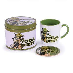 [Star Wars: Mug & Coaster Tin Gift Set: Yoda Best (Product Image)]