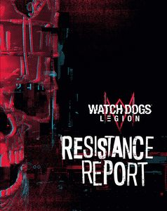 [Watch Dogs Legion: Resistance Report (Hardcover) (Product Image)]