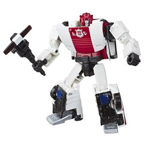[Transformers: War For Cybertron: Deluxe Action Figure: Red Alert (Product Image)]