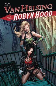 [Van Helsing Vs Robyn Hood #4 (Cover D Riveiro) (Product Image)]