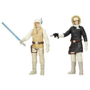 [Star Wars: Mission Series Wave 6 Action Figures: Episode V Hoth Luke Skywalker & Hoth Han Solo (Product Image)]