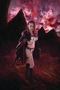 [Red Sonja: Age Of Chaos #3 (Kingston Cosplay Virgin Variant) (Product Image)]