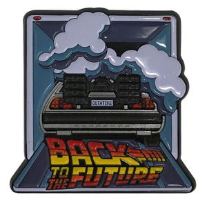 [Back To The Future: Limited Edition Pin Badge: DeLorean Time Machine (Product Image)]