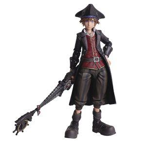 [Kingdom Hearts III: Bring Arts Action Figure: Sora (Pirate Version) (Product Image)]