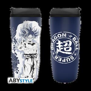 [Dragon Ball Super: Travel Mug: Goku Ultra Instinct (Product Image)]