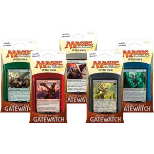 [Magic The Gathering: Oath Of The Gatewatch: Intro Pack (Product Image)]