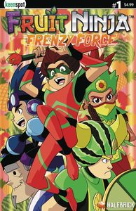 [Fruit Ninja: Frenzy Force #1 (Cover A Mokhtar Variant) (Product Image)]