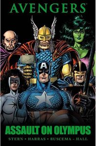 [Avengers: Assault On Olympus (Premier Edition Hardcover) (Product Image)]