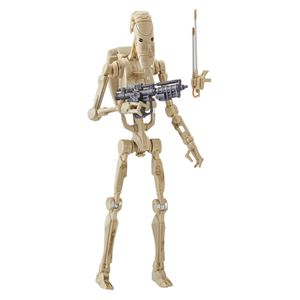 [Star Wars: The Phantom Menace: Black Series Action Figure: Battle Droid (Product Image)]