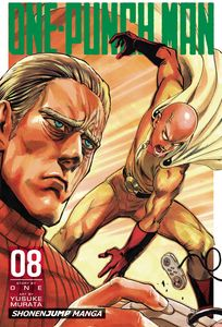 [One-Punch Man Volume 8 (Product Image)]