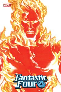 [Fantastic Four #24 (Alex Ross Human Torch Timeless Variant EMP) (Product Image)]