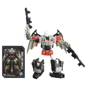 [Transformers: Generations: Action Figure: Titans Return: Deluxe Twinferno (Product Image)]