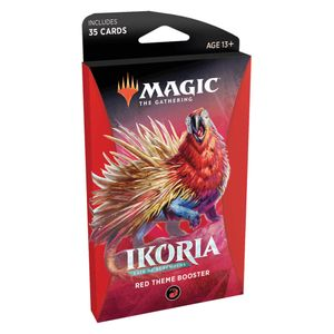 [Magic The Gathering: Themed Booster Pack: Ikoria Lair Of Behemoths (Red) (Product Image)]