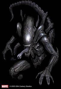 [Alien #1 (Inhyuk Lee Virgin Variant) (Product Image)]