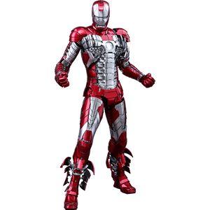 [Iron Man 2: Hot Toys Movie Masterpiece Die Cast Figures: Iron Man Mark V (Product Image)]