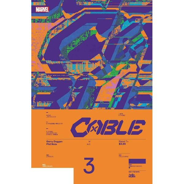 [The cover for Cable #3 (Muller Design Variant)]