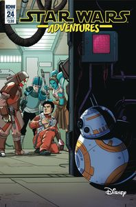 [Star Wars Adventures #24 (Cover A Levens) (Product Image)]