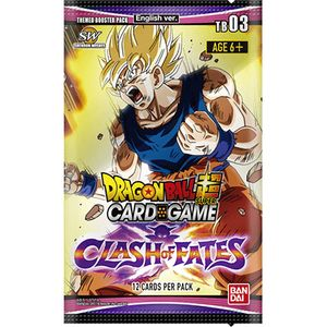 [Dragon Ball: Super: The Card Game: Themed Booster 3 (Product Image)]