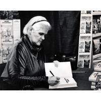 [Anne McCaffrey signing Dragonlady (Product Image)]