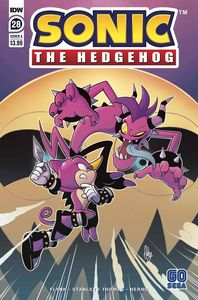 [Sonic The Hedgehog #28 (Cover A Bulmer) (Product Image)]