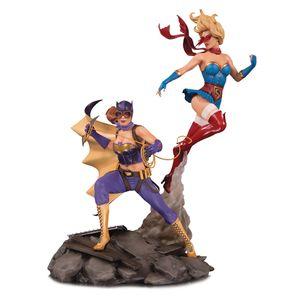 [DC: Celebration Statue: Batgirl & Supergirl (Product Image)]