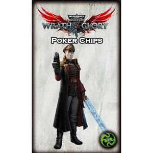 [Warhammer: Wrath & Glory: Wrath Ruin & Glory Poker Chip Tokens (Product Image)]