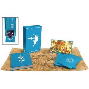 [Legend Of Zelda: Breath Of The Wild: Creating A Champion (Hero Edition Hardcover) (Product Image)]