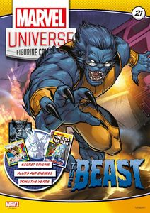 [Marvel Universe Figurine Collection #21: Beast (Product Image)]