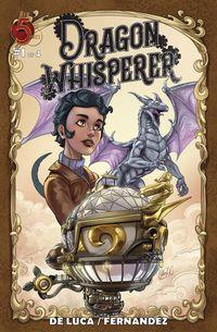 [The cover for Dragon Whisperer #1]