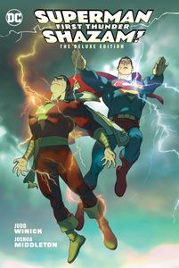 [Superman: Shazam: First Thunder (Deluxe Edition - Hardcover) (Product Image)]