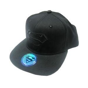 [Superman: Black Snapback Cap (Product Image)]