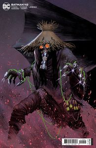 [Batman #112 (Cover B Jorge Molina Card Stock Variant (Fear State)) (Product Image)]